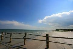 Playa en el mar Báltico Imagenes de archivo