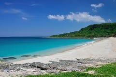 Playa en el parque nacional kenting Fotografía de archivo libre de regalías