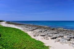 Playa en el parque nacional kenting Imagen de archivo