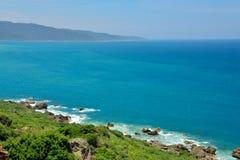 Playa en el parque nacional kenting Imagenes de archivo