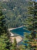 Playa en Emerald Bay Foto de archivo libre de regalías
