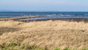 Playa en Escocia Fotos de archivo