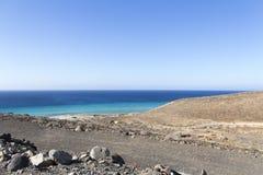 Playa en Fuerteventura imágenes de archivo libres de regalías