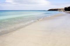 Playa en Fuerteventura Imagenes de archivo