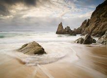 Playa en Galicia, fotografía de archivo