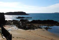 Playa en Gran Bretaña Fotografía de archivo libre de regalías