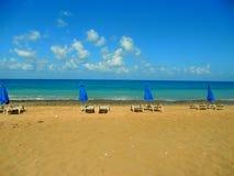 Playa en Grecia Fotografía de archivo libre de regalías