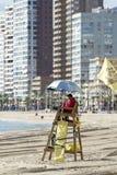 Playa en invierno Fotos de archivo