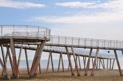 Playa en Italia Foto de archivo libre de regalías