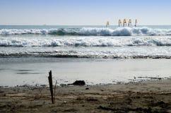 Playa en Kamakura Foto de archivo libre de regalías