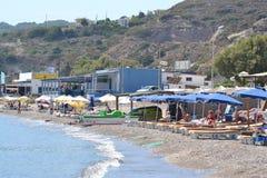Playa en Kefalos imágenes de archivo libres de regalías