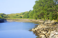 Playa en Killybegs, Donegal, Irlanda del oeste Imagen de archivo