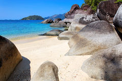 Playa en Ko Lanta, Tailandia Fotografía de archivo libre de regalías