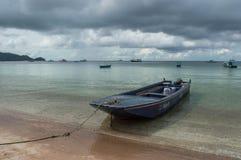 Playa en Ko Tao imagenes de archivo