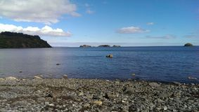 Playa en Kodiak Imagenes de archivo
