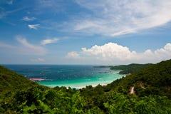 Playa en la isla Imagen de archivo