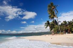 Playa en la isla Imágenes de archivo libres de regalías