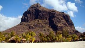 Playa en la isla de Mauricio Imágenes de archivo libres de regalías