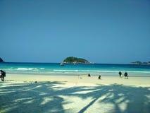 Playa en la isla de Redang imágenes de archivo libres de regalías