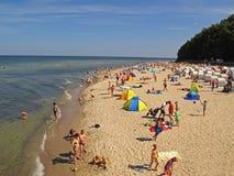 Playa en la isla de Rugen fotografía de archivo
