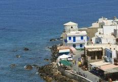 Playa en la isla Nissyros Foto de archivo