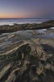 Playa en la oscuridad Imagenes de archivo