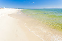Playa en la península de los Hel Foto de archivo libre de regalías