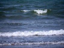 Playa en la reserva de naturaleza en Skala Kalloni Lesvos Grecia Imagenes de archivo