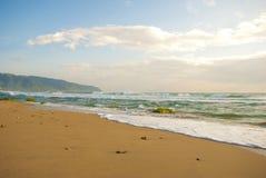 Playa en la salida del sol Imagen de archivo