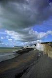 Playa en la sima Birling Imagen de archivo