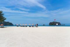 Playa en Langkawi Imagen de archivo libre de regalías