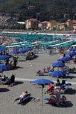 Playa en Levanto Imágenes de archivo libres de regalías