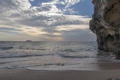 Playa en Madagascar Imagen de archivo libre de regalías