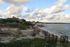 Playa en Madagascar Fotos de archivo