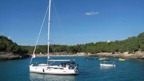 Playa en Majorca Imágenes de archivo libres de regalías
