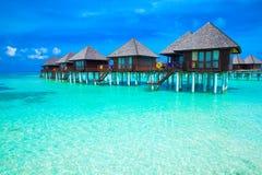 Playa en Maldives foto de archivo