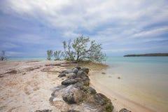 Playa en maratón, la Florida del sombrero Imagen de archivo libre de regalías