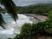 Playa en Maui Hawaii Foto de archivo