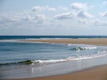 Playa en Mozambique Imágenes de archivo libres de regalías
