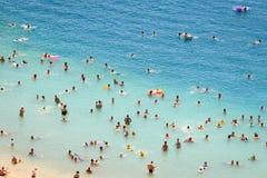 Playa en Neum imágenes de archivo libres de regalías