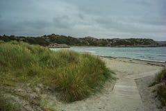 Playa en Noruega Imagen de archivo libre de regalías
