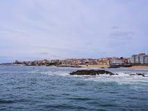 Playa en Oporto Imagen de archivo libre de regalías