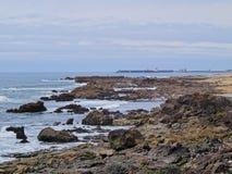 Playa en Oporto Fotografía de archivo libre de regalías
