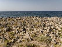 Playa en Palermo Fotos de archivo