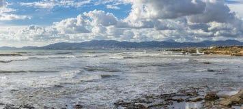 playa en palma imágenes de archivo libres de regalías