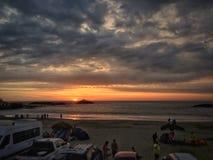 Playa en Perú Foto de archivo libre de regalías