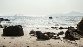 Playa en phuket imagen de archivo