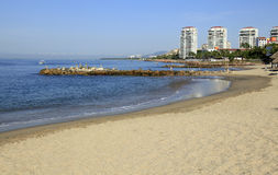 Playa en Puerto Vallarta Imagenes de archivo