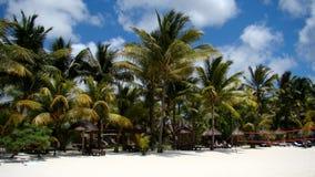 Playa en Punta Cana Fotografía de archivo