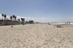 Playa en San Diego Imágenes de archivo libres de regalías